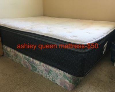ashiey queen size mattress