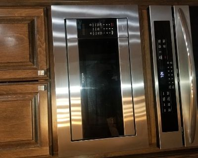 Never used dishwasher and microwave trim