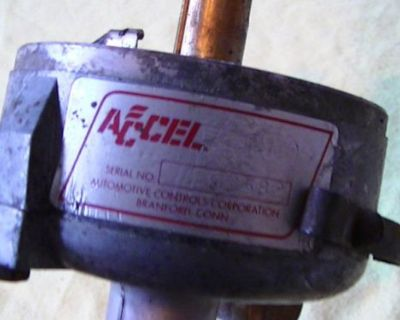 Accel Dual Point Distributor 341001 #5 Chevy