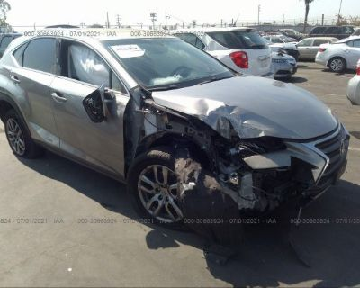 Salvage Gray 2016 Lexus Nx 200t