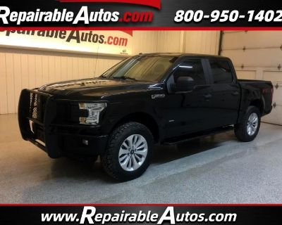 2016 Ford F-150 XL FX4 SuperCrew 4WD Repairable Hail Damage