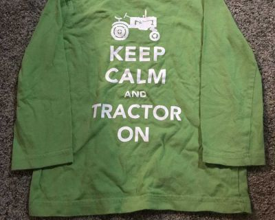 Keep Calm and Tractor On shirt