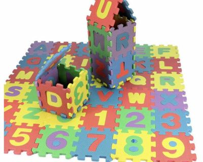 Foam puzzle floor play mat