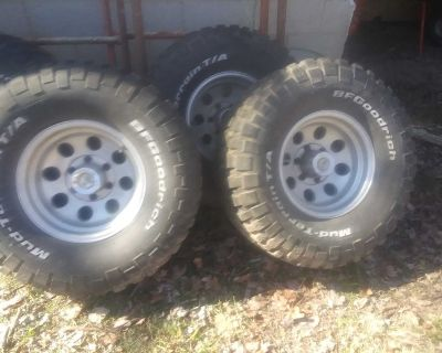 Bf Goodrich tires and wheels