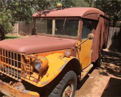 1952 Military Jeep