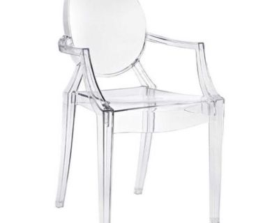 Ghost accent chair
