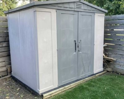 Black and Decker Shed 6x8