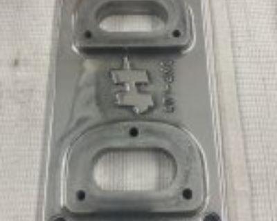 4-71 blower carb top-Hamilton 2x2 stromburg-polished
