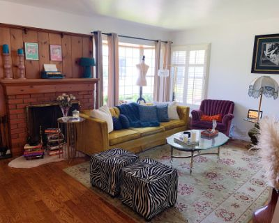 Eclectic Art Deco Home with Outdoor Space and Full Service Recording Studio, Sherman Oaks, CA