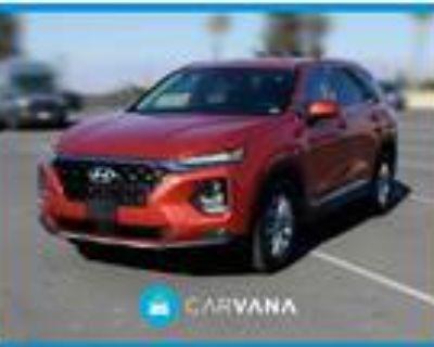 2019 Hyundai Santa Fe Orange, 13K miles