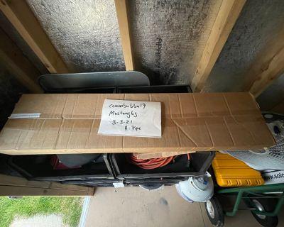 Steeds H-pipe Resonator Delete - New in box