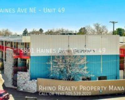 5801 Haines Ave Ne #49, Albuquerque, NM 87110 Studio Apartment