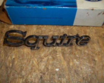 1975 - 1978 Ford Squire Nameplate - Station Wagon