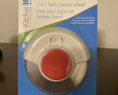 Brand new in box 2 and one herb and pizza wheel