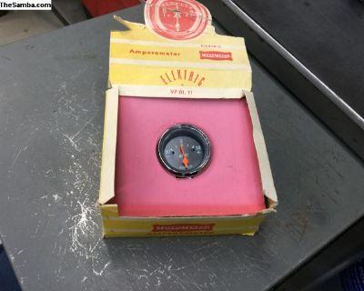 NOS MotoMeter AMP gauge