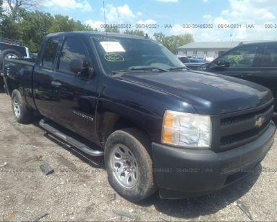 Salvage Blue 2008 Chevrolet Silverado 1500