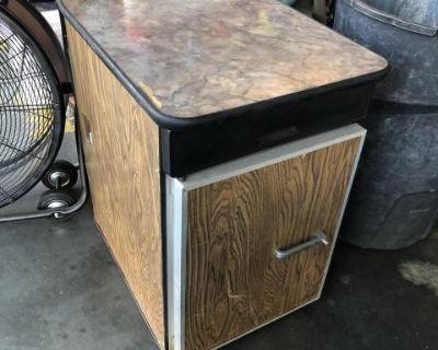 Camper Fridge Table for Camper bus .