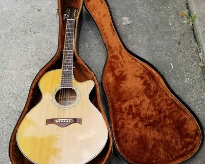 Charvel Acoustic Guitar with Case