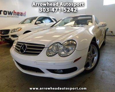 Used 2003 Mercedes-Benz SL-Class 2dr Roadster 5.0L