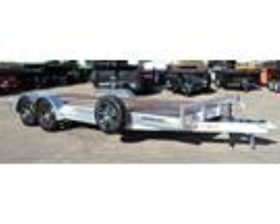 2021 H&H 82x20 (18+2) Flatdeck 7k Aluminum Car Hauler