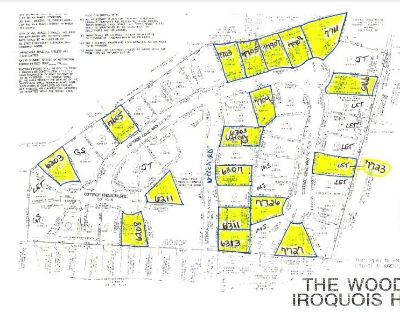 18 Lots in The Woods of Iroquois Heights