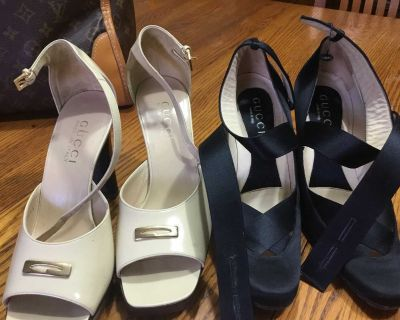 Gucci shoes high heel.