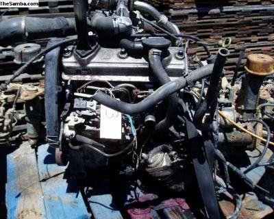 VW Eurovan Complete engine Used. 2.4 NA Diesel. 5