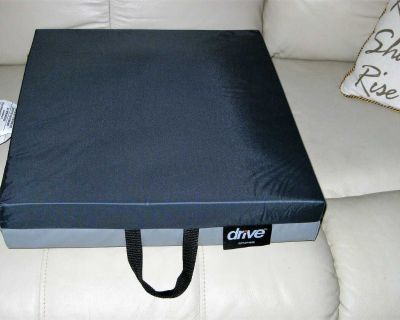 Drive Medical Gel Foam Wheelchair Seat Cushions ~ NEW ~ 3 Available In Box