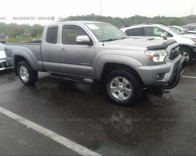 Salvage Silver 2015 Toyota Tacoma