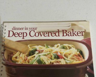 Pampered Chef Deep Covered Baker cookbook