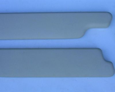 57 58 Ford Fairlane Convertable Padded Sunvisor Pair New