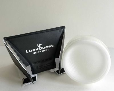 Flash diffuser lot - Gary Fong Litesphere and LumiQuest SoftBox