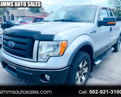 """2010 Ford F-150 SuperCrew 150"""" FX4 4WD"""