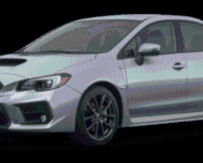 2019 Subaru WRX Limited Manual