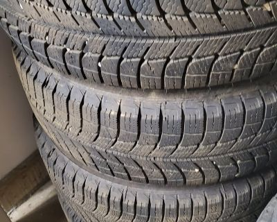 """Virginia - Fs: 15"""" wheels with snow tires"""