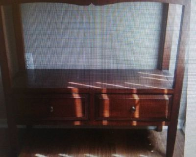 Console Table - Beautiful, light brown, 2 drawers