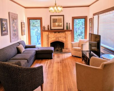 Ultra Private, Nicely Furnished Craftsman House, Oakland, CA