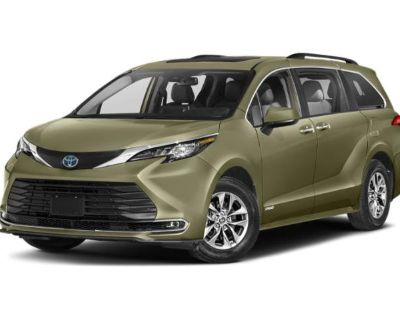 New 2021 Toyota Sienna XLE FWD Mini-van, Passenger
