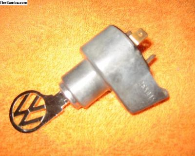 1967 only ignition switch with chrome VW key bug!