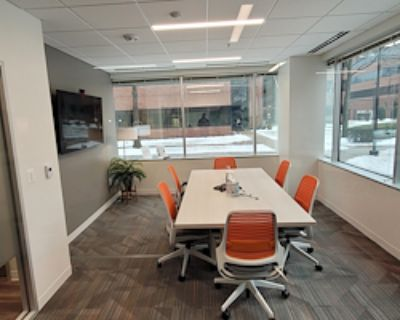 Private Meeting Room for 6 at Office Evolution Fairfax