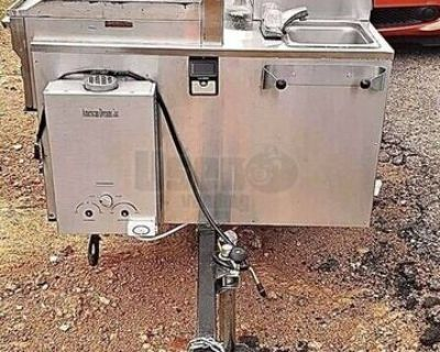 2019 Street Food Vending Concession Cart / Hot Dog Cart in Great Shape