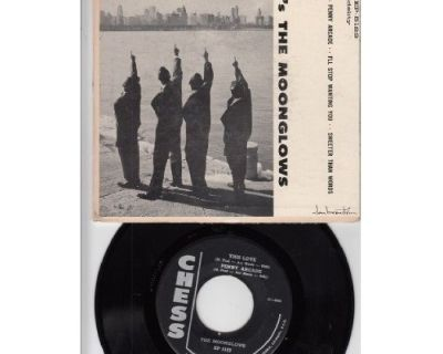 MOONGLOWS ~ RARE EP~Look It's The Moonglows !