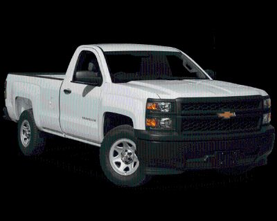 Pre-Owned 2014 Chevrolet Silverado 1500 Work Truck RWD 2D Standard Cab