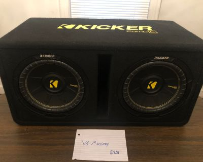"""Subwoofer System (dual 10"""" CompC subwoofers)"""