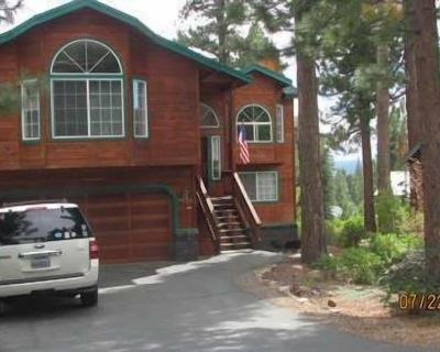 Lovely Large Kingswood Lake View-hot Tub & Bocce Ball, 1 Mile to Sandy Beach - Tahoe Vista