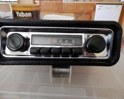 working 1974/75 blaupunkt am radio