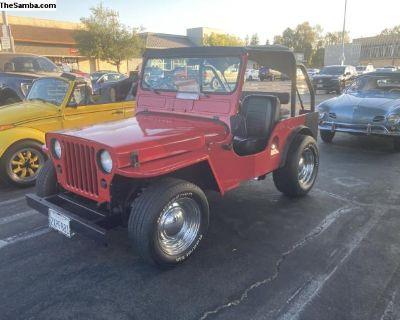 1946 vw Veep cj2a willys Jeep Bug