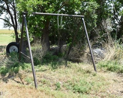 Frame to hold a Porch Swing