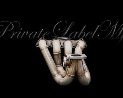 Plm Private Label Mfg B-series T3 Top Mount Manifold B18 B16 B20 Civic Integra