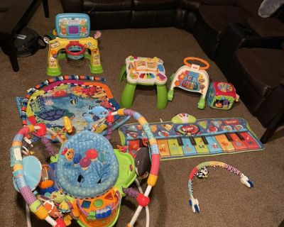 Baby / toddler activity and toy lot